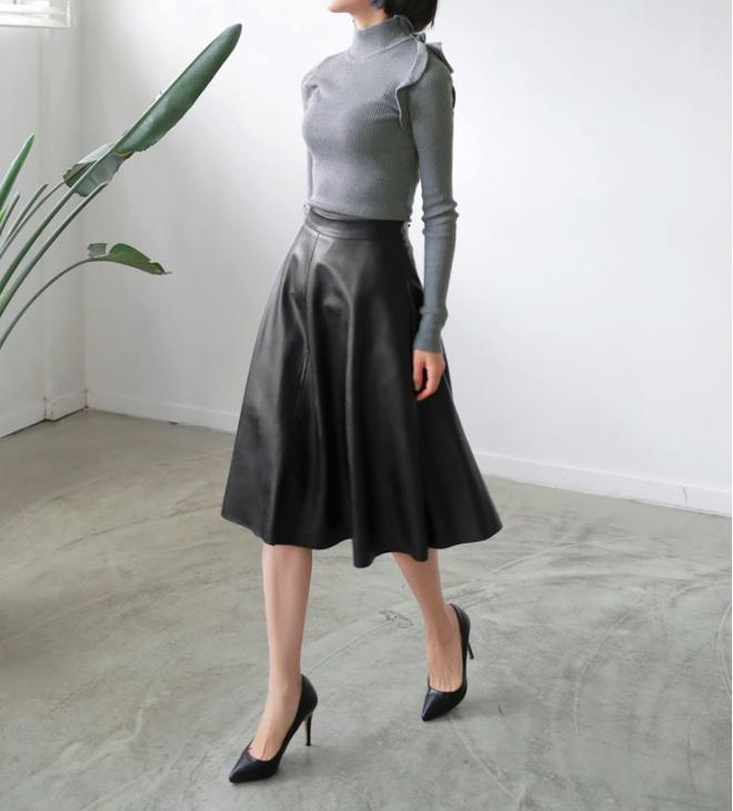 Lên đồ ấm áp cho ngày trời lạnh tăng cường với 4 kiểu chân váy chuyên dụng của mùa đông - Ảnh 14.