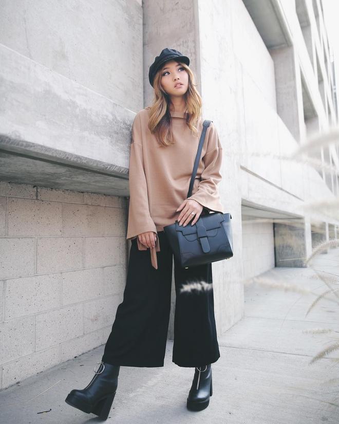 Cuối tháng 10, street style của phái đẹp châu Á ngày càng kín đáo và thu hút hơn - Ảnh 6.
