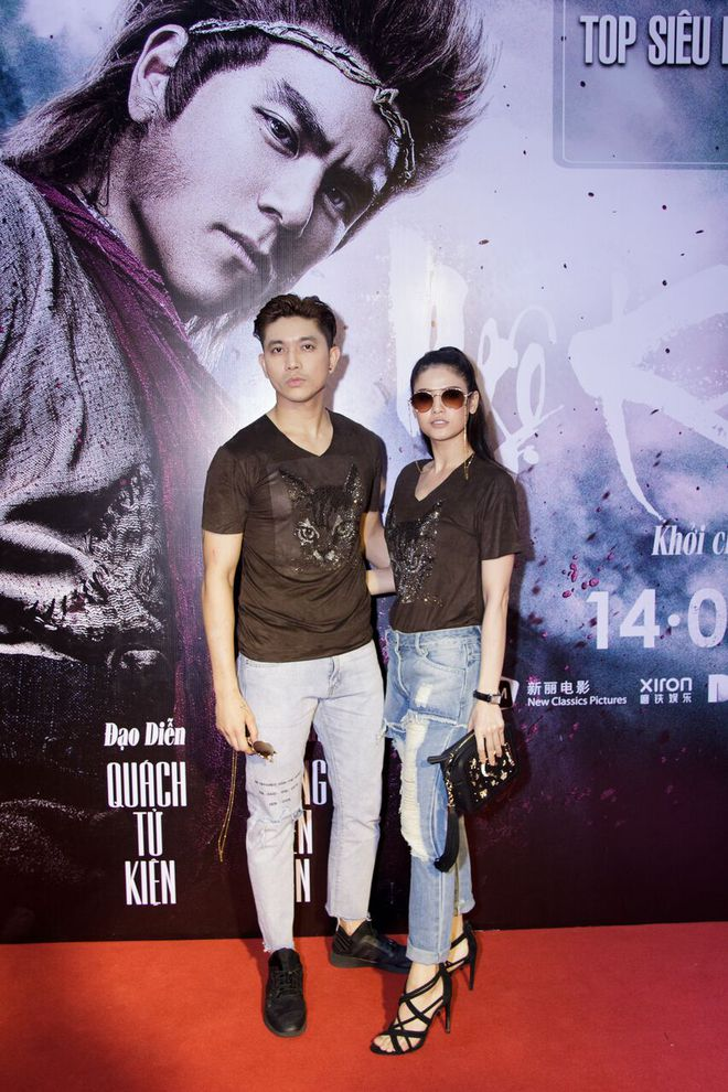 Tim - Trương Quỳnh Anh mặc giống hệt nhau đi xem Tôn Ngộ Không - Ảnh 2.
