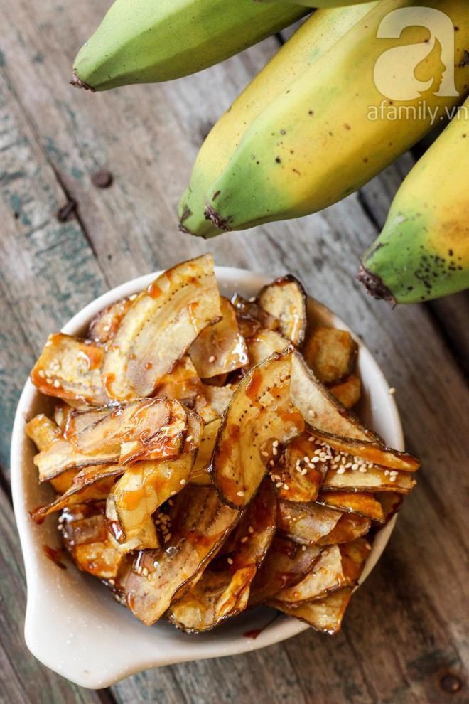 Tết này không thể bỏ qua món chuối ngào đường giòn tan ăn là mê liền - Ảnh 9.