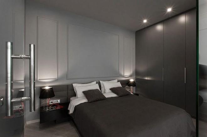Phòng ngủ độc đáo nhờ sử dụng ánh sáng trong căn hộ 50m2 - Ảnh 5.