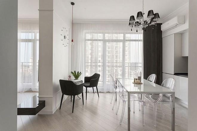 Phòng ngủ độc đáo nhờ sử dụng ánh sáng trong căn hộ 50m2 - Ảnh 10.