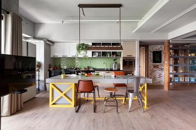 Thiết kế căn hộ 122m2 có phòng bếp lớn - Ảnh 1.