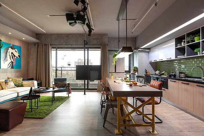 Thiết kế căn hộ 122m2 có phòng bếp lớn - Ảnh 3.