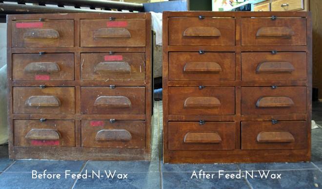 Sáp lau biến đồ gỗ cũ trở nên sạch đẹp như mới trong tích tắc - Ảnh 5.
