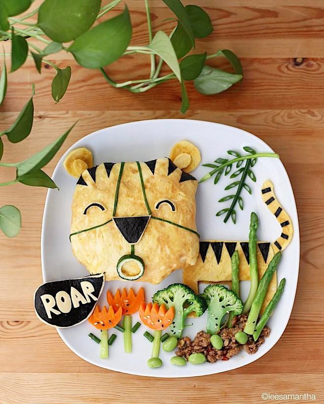 Để con hết kén ăn, bà mẹ khéo tay đã biến bữa ăn thành kiệt tác nghệ thuật - Ảnh 2.