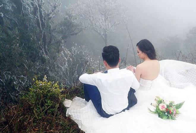 Để đẹp thì bất chấp: Cô dâu vai trần, chú rể gồng mình dưới trời băng tuyết để có bộ ảnh cưới nghìn like - Ảnh 4.