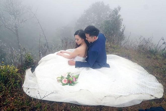 Để đẹp thì bất chấp: Cô dâu vai trần, chú rể gồng mình dưới trời băng tuyết để có bộ ảnh cưới nghìn like - Ảnh 6.