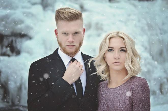 Để đẹp thì bất chấp: Cô dâu vai trần, chú rể gồng mình dưới trời băng tuyết để có bộ ảnh cưới nghìn like - Ảnh 16.
