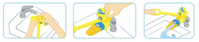 Khuyến khích con tự lập, chăm rửa tay hơn nhờ bộ máng mỏ vịt đáng yêu - Ảnh 5.