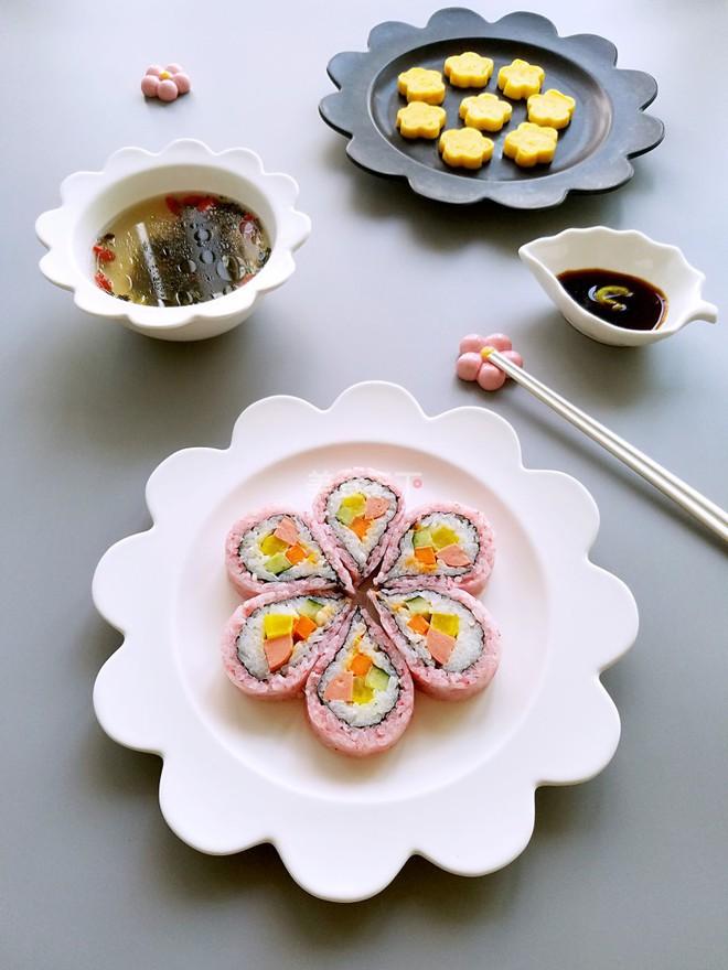Làm sushi hoa anh đào đẹp mắt ngon miệng nhìn thôi đã mê - Ảnh 9.