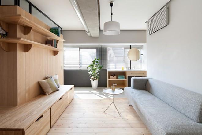 Căn hộ nhỏ rộng gấp đôi nhờ biết cách sắp xếp nội thất - Ảnh 3.