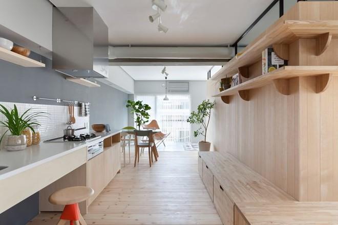 Căn hộ nhỏ rộng gấp đôi nhờ biết cách sắp xếp nội thất - Ảnh 6.
