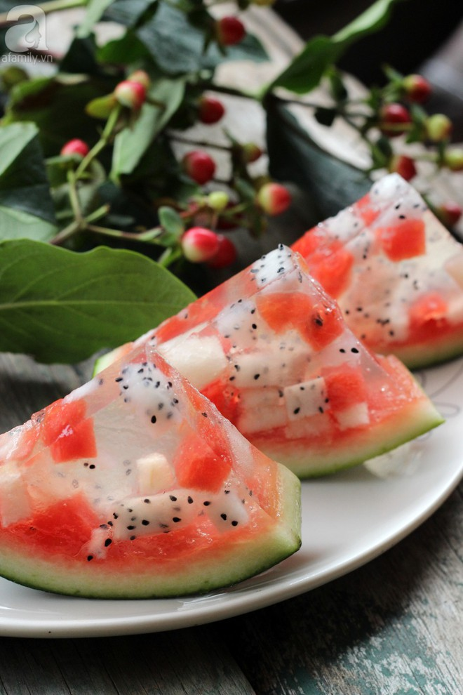Tận dụng trái cây thừa sau Tết làm ngay thạch trái cây mát lịm tươi ngon - Ảnh 6.