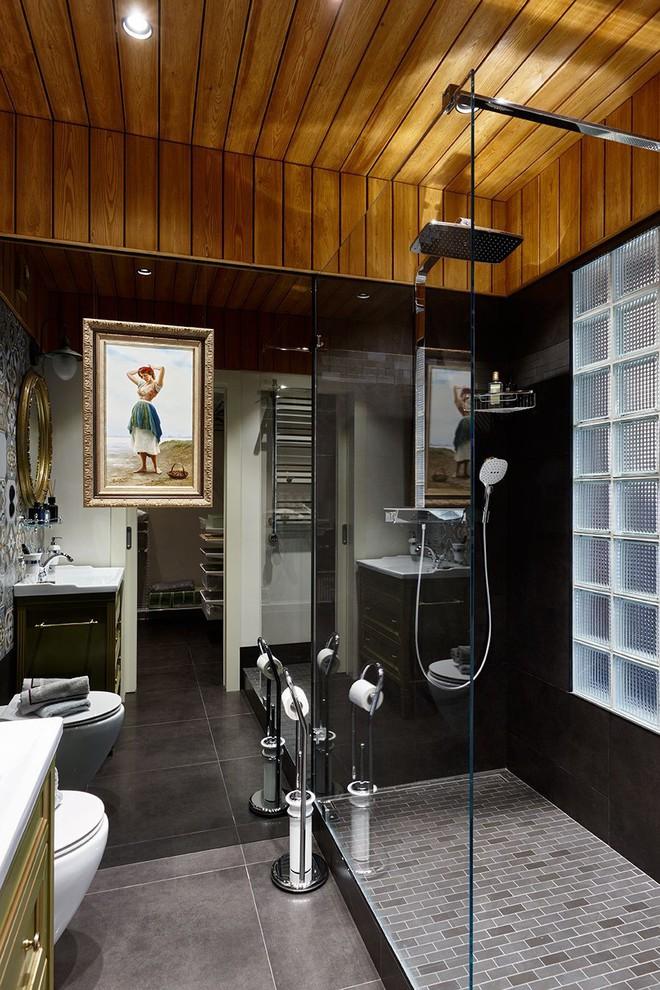 Độc đáo căn hộ 69 m2 với bức tường gạch thô, đầy màu sắc ấm áp - Ảnh 14.