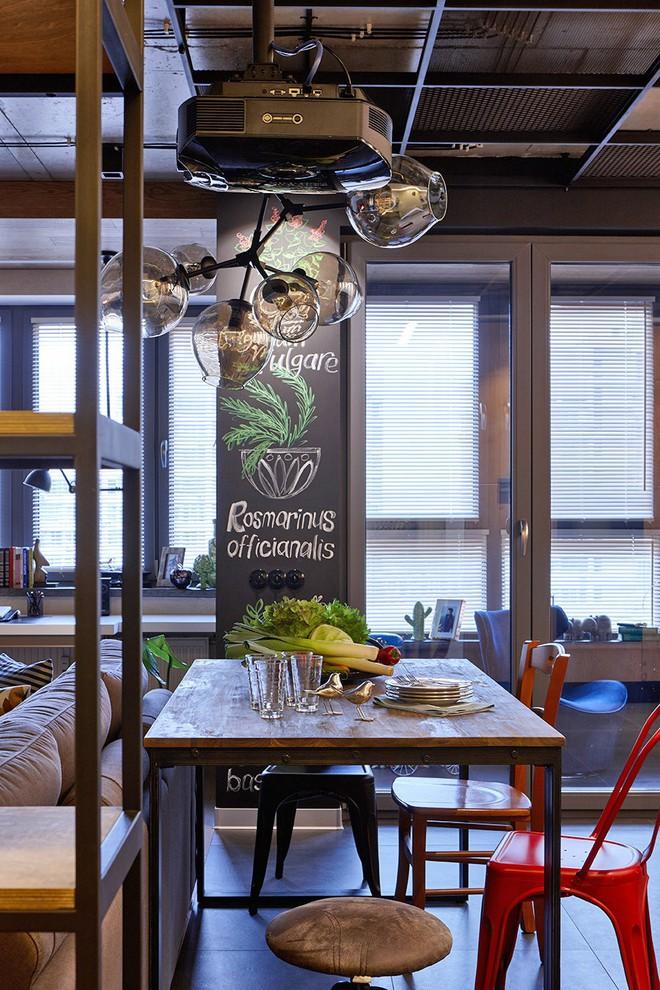 Độc đáo căn hộ 69 m2 với bức tường gạch thô, đầy màu sắc ấm áp - Ảnh 5.