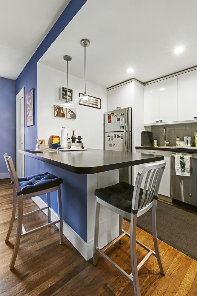 Phòng bếp vừa chật, vừa xấu lột xác hoàn toàn nhờ những thủ thuật cực dễ làm - Ảnh 4.