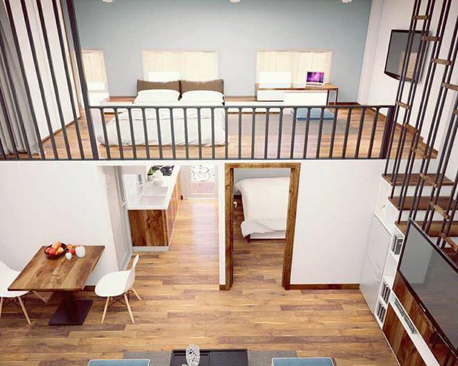 Ngắm 2 căn hộ tuy chỉ 35m² nhưng có 2 phòng ngủ đang khiến nhiều người ao ước - Ảnh 1.