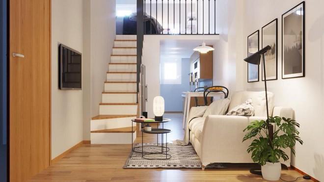 Ngắm 2 căn hộ tuy chỉ 35m² nhưng có 2 phòng ngủ đang khiến nhiều người ao ước - Ảnh 4.