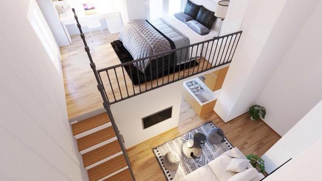 Ngắm 2 căn hộ tuy chỉ 35m² nhưng có 2 phòng ngủ đang khiến nhiều người ao ước - Ảnh 5.