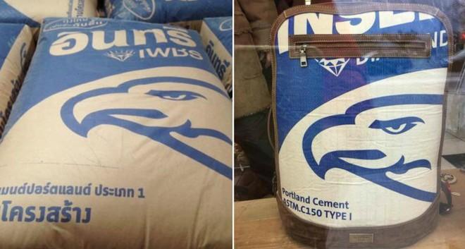 Lại xuất hiện mẫu ba lô có giá hơn 5 triệu đồng nhưng trông y hệt túi đựng xi măng - Ảnh 1.