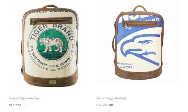 Lại xuất hiện mẫu ba lô có giá hơn 5 triệu đồng nhưng trông y hệt túi đựng xi măng - Ảnh 3.