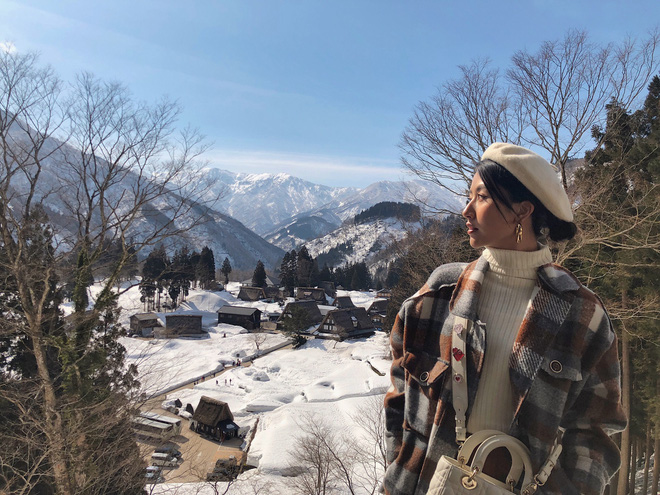 Nhìn ảnh Quỳnh Anh Shyn đi Nhật, ai cũng phải công nhận cô nàng đợt này makeup và ăn mặc xinh quá đỗi - Ảnh 8.