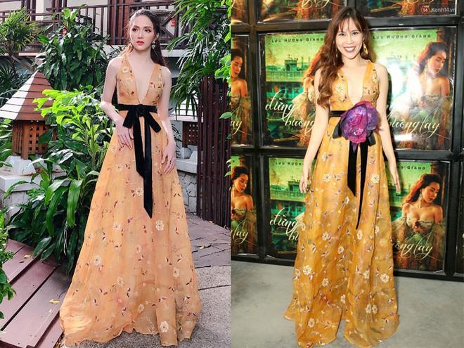 Một chiếc váy hai số phận, không tin bạn cứ nhìn hai người đẹp tên Hương Giang này thì thấy ngay - Ảnh 7.