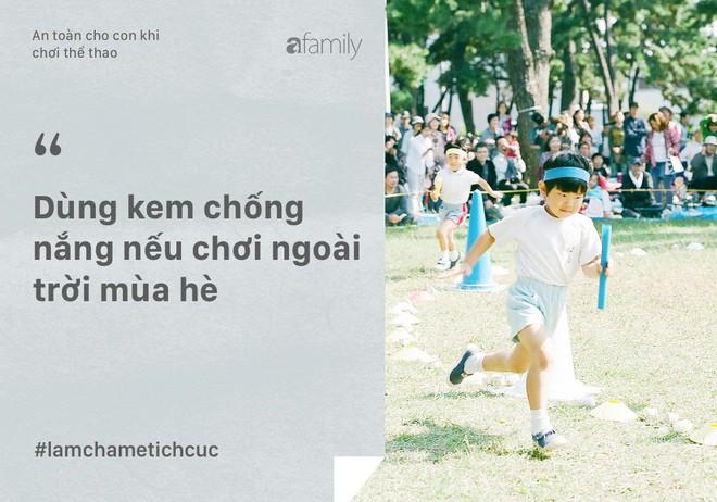 10 điều bố mẹ phải làm để con an toàn khi chơi thể thao và hoạt động thể chất - Ảnh 7.