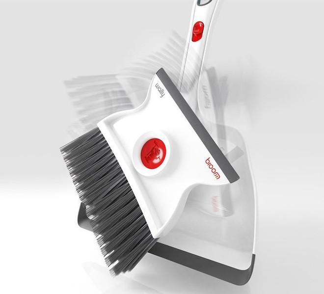 Dọn dẹp sạch sẽ mọi vết bẩn với bộ chổi đa năng vừa lau vừa quét này - Ảnh 2.