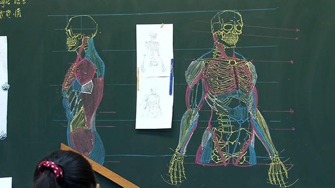 Thầy giáo nhà người ta: Vừa điển trai lại vẽ hình minh họa cực đẹp khiến học sinh mê mẩn - Ảnh 11.