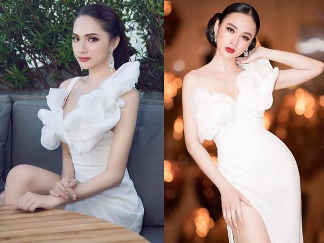 Hoa hậu Hương Giang táo bạo với đầm xẻ cao tận hông, thách thức  cả cô nàng táo bạo Angela Phương Trinh - Ảnh 10.
