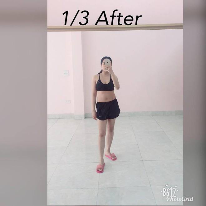 Vòng eo giảm từ 85cm xuống 65cm sau 2 tháng, đây là cách giảm cân sau sinh siêu đẳng của bà mẹ trẻ - Ảnh 3.