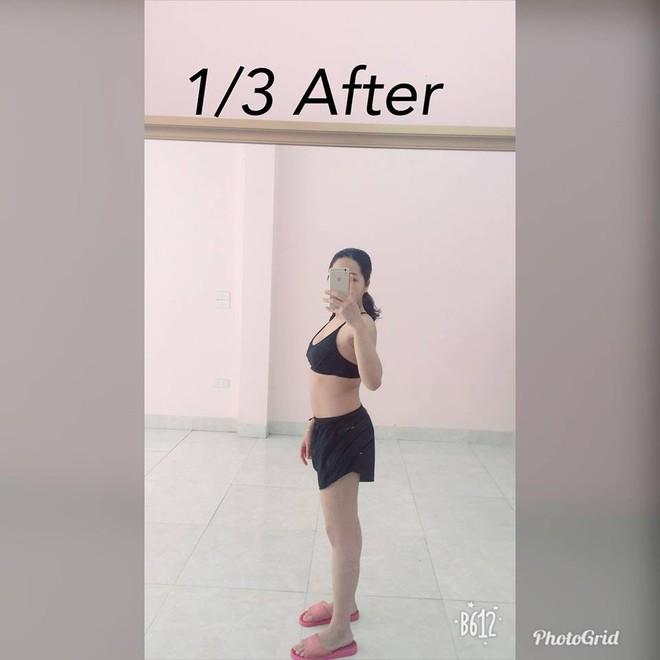 Vòng eo giảm từ 85cm xuống 65cm sau 2 tháng, đây là cách giảm cân sau sinh siêu đẳng của bà mẹ trẻ - Ảnh 5.