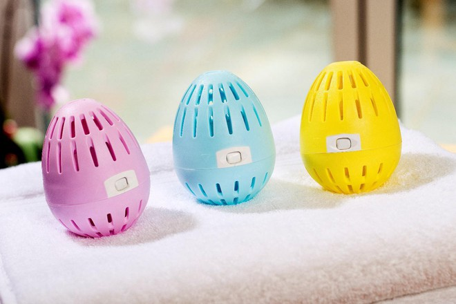 Ngỡ ngàng trứng giặt thay thế cả bột giặt lẫn nước xả, dùng vài năm mới hết