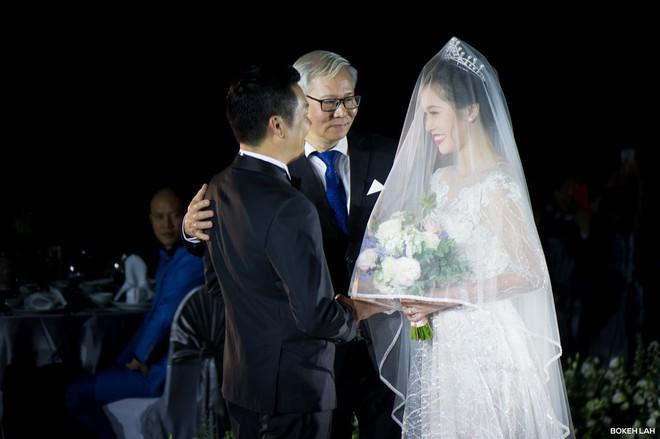 Cận cảnh đám cưới kỳ công xanh màu đại dương của Shark Hưng (Thương vụ bạc tỷ) và cô dâu Á hậu - Ảnh 12.