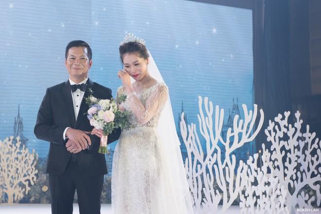 Cận cảnh đám cưới kỳ công xanh màu đại dương của Shark Hưng (Thương vụ bạc tỷ) và cô dâu Á hậu - Ảnh 15.