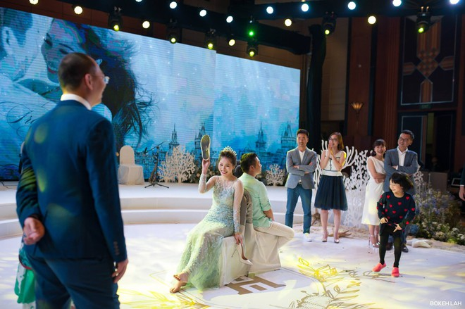 Cận cảnh đám cưới kỳ công xanh màu đại dương của Shark Hưng (Thương vụ bạc tỷ) và cô dâu Á hậu - Ảnh 23.