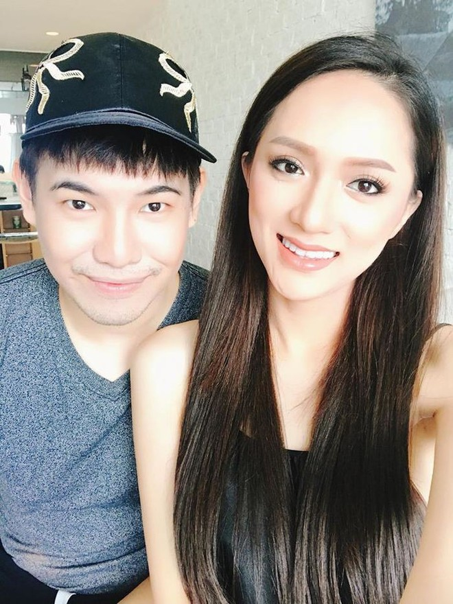 Dưới bàn tay trang điểm của chuyên gia người Thái, nhan sắc của Hoa hậu Hương Giang trông khác lạ bất ngờ - Ảnh 1.