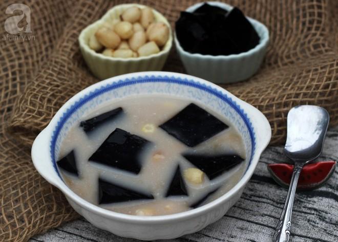 Muốn giải nhiệt mát gan phải làm ngay sương sáo sữa dừa - Ảnh 9.