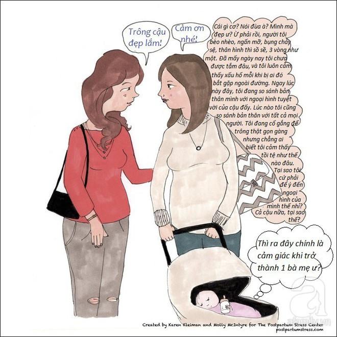 Những hình ảnh cho thấy trầm cảm sau sinh khiến người mẹ có suy nghĩ đáng sợ đến thế nào - Ảnh 5.