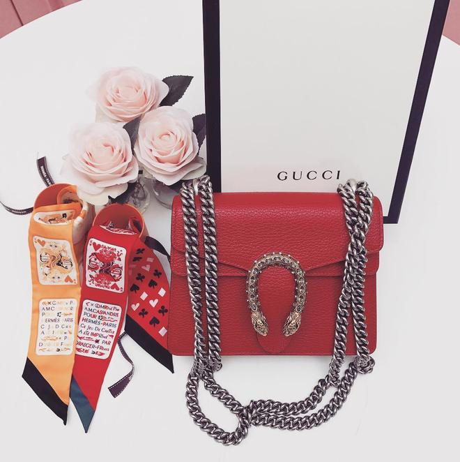 Không hổ danh là tay chơi hàng hiệu, chưa đầy 1 tuần Ngọc Trinh tậu luôn 2 chiếc túi của Gucci - Ảnh 3.