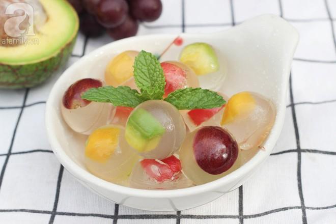 Công thức thạch trái cây khiến người không hảo ngọt cũng phải mê - Ảnh 1.