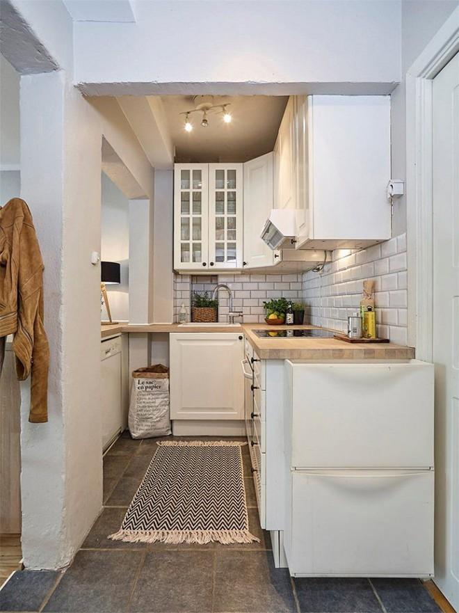 Cùng học cách trang trí căn hộ với diện tích 27m² thật đơn giản nhưng siêu ấm cúng nhờ những mẹo hay này - Ảnh 7.