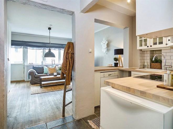 Cùng học cách trang trí căn hộ với diện tích 27m² thật đơn giản nhưng siêu ấm cúng nhờ những mẹo hay này - Ảnh 8.