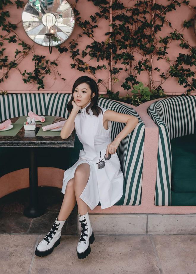 Khởi động mùa du lịch qua loạt street style siêu thú vị của các quý cô châu Á - Ảnh 4.