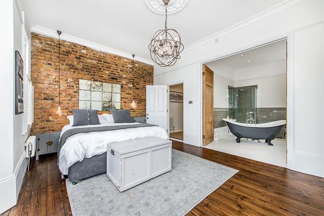 18 kiểu phòng tắm tích hợp phòng ngủ đẹp không khác gì khách sạn - Ảnh 10.