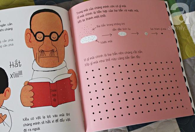 """Những cuốn sách """"gối đầu giường"""" của cha mẹ Nhật khi dạy con về sức khỏe và cơ thể - Ảnh 4."""