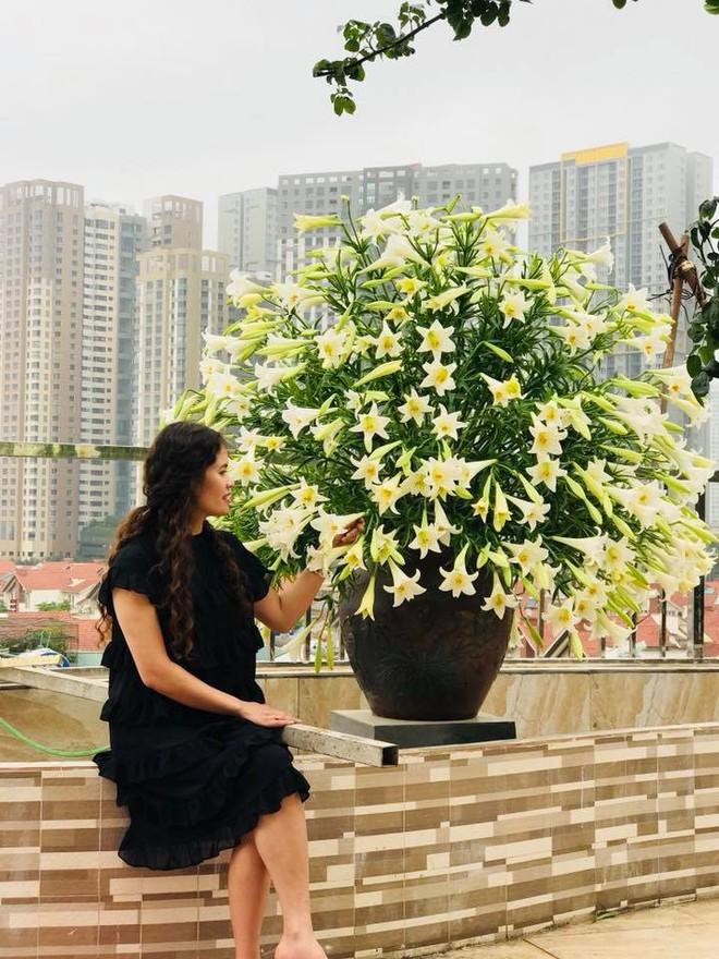 Tháng Tư ngất ngây với mùa hoa loa kèn và những cách cắm đẹp lung linh mê hồn - Ảnh 1.