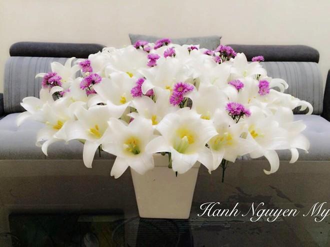 Tháng Tư ngất ngây với mùa hoa loa kèn và những cách cắm đẹp lung linh mê hồn - Ảnh 6.